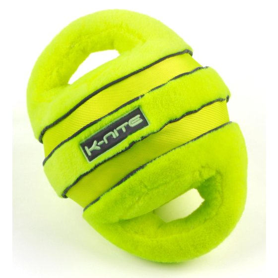 K-Nite Glowing Handle Ball Neon Yellow Hondenspeelgoed Fluorescerende naden & stropdassen logo