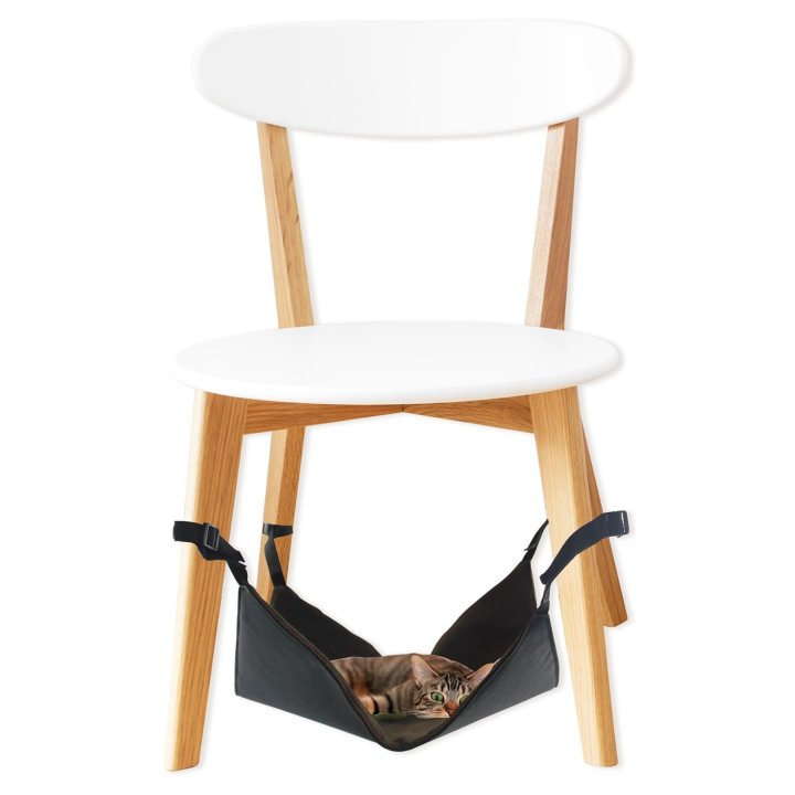 katzen h ngematte f r stuhlbeine cat hammock 40 x 40 x 1. Black Bedroom Furniture Sets. Home Design Ideas